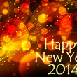 Happy new year 2014 background — Stock Photo