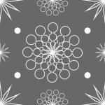 Seamless abstract stars on dark grey — Stock Vector #30568433