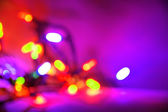 Christmas light background — Stock Photo