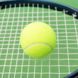 ������, ������: Tennis ball and racket