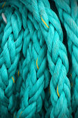 Large ship cable background — Stockfoto