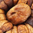 Heap dried fig background — Stock Photo