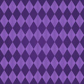 Seamless harlequin pattern-purple — Stock Vector