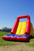 Inflatable slide — Stock Photo