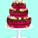 Scheda della torta di velluto rosso — Vettoriale Stock  #41345573