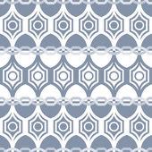 Seamless geometric pattern in grey — Stock Vector