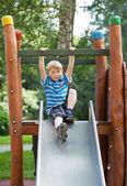 Boy at playground — Stock Photo