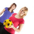 Stock Photo: Sportive girls