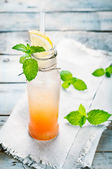 Fresh grapefruit cocktail — Stock Photo