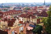 Vista della città praga — Foto Stock
