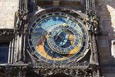 Prague astronomic clock — Stock Photo
