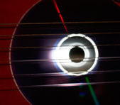 Disk and strings — Stock Photo