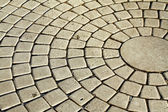 Cobblestone pavement — Stock Photo