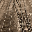 Royalty-Free Stock Photo: Railroad Tracks