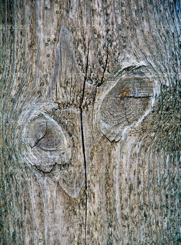 Wooden pattern with abstract eyes — Stock Photo #18750345