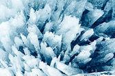 Porous ice background — Stock Photo