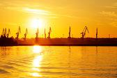 Sea dock — Stock Photo