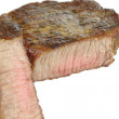 Fry steak — Stock Photo