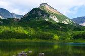 Ancient Volcano and Lake — Stock Photo