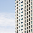Windows and Balconies on Tall Condo Tower — Stock Photo