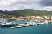 Yacht Basin on St Thomas — Stock Photo