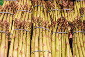Bundles of Fresh Asparagus — Stock Photo
