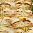 Crabs in Seafood Market — Stock Photo
