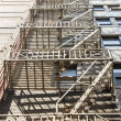 Fire Escape and Shadows — Stock Photo #18578879