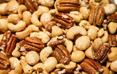 Mixed Nuts with Macadamias — Stock Photo