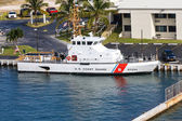Coast Guard Ship at Port — Stock Photo