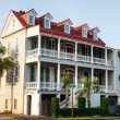 Stock Photo: Two Story Antebellum in Charleston