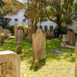 Stock Photo: Old Stained Tombstones