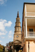Church and Balconies — Stock Photo