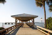 St Simons Island Pier — Stock Photo