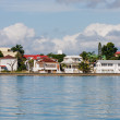 Stock Photo: Coastal Homes in Belize