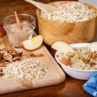 Oatmeal Preparation - Stock Photo