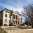 Old Stone Courthouse in Town Square — Stock Photo #22313631