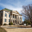 Old Stone Courthouse in Town Square — Stock Photo
