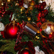 Stock Photo: Silver Cup Decorating Christmas Tree