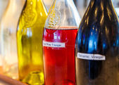 Vinegars and Oils — Stock Photo