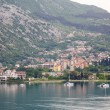 Foto Stock: Boats in Kotor Bay