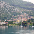 图库照片: Boats in Kotor Bay
