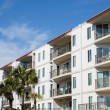 Stock Photo: Balconies on Tropical Coastal Condos
