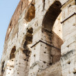 Arches on Exterior of Coliseum — Stock Photo