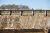 Sectie van oude hydro-elektrische dam — Stockfoto
