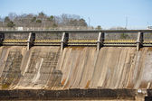 Sezione della vecchia diga idroelettrica — Foto Stock