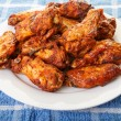 Stock Photo: Chicken Wings with Mesquite Sauce