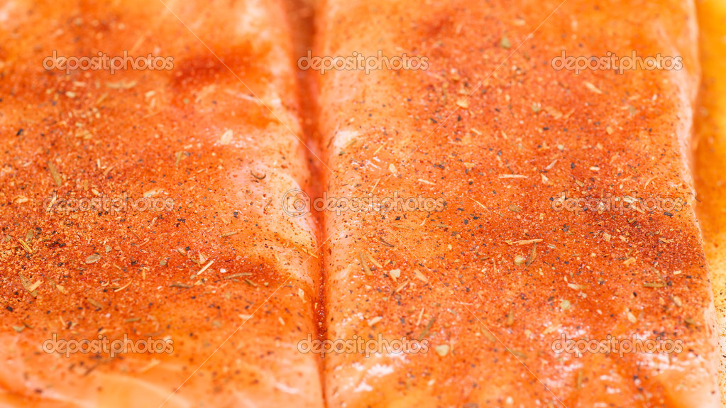 How to fillet a cooked salmon