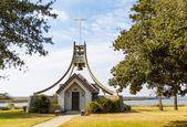 Casa pequeña campana por marsh wetland — Foto de Stock