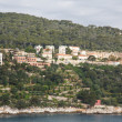 Stock Photo: Stone Condos on Adriatic Coast